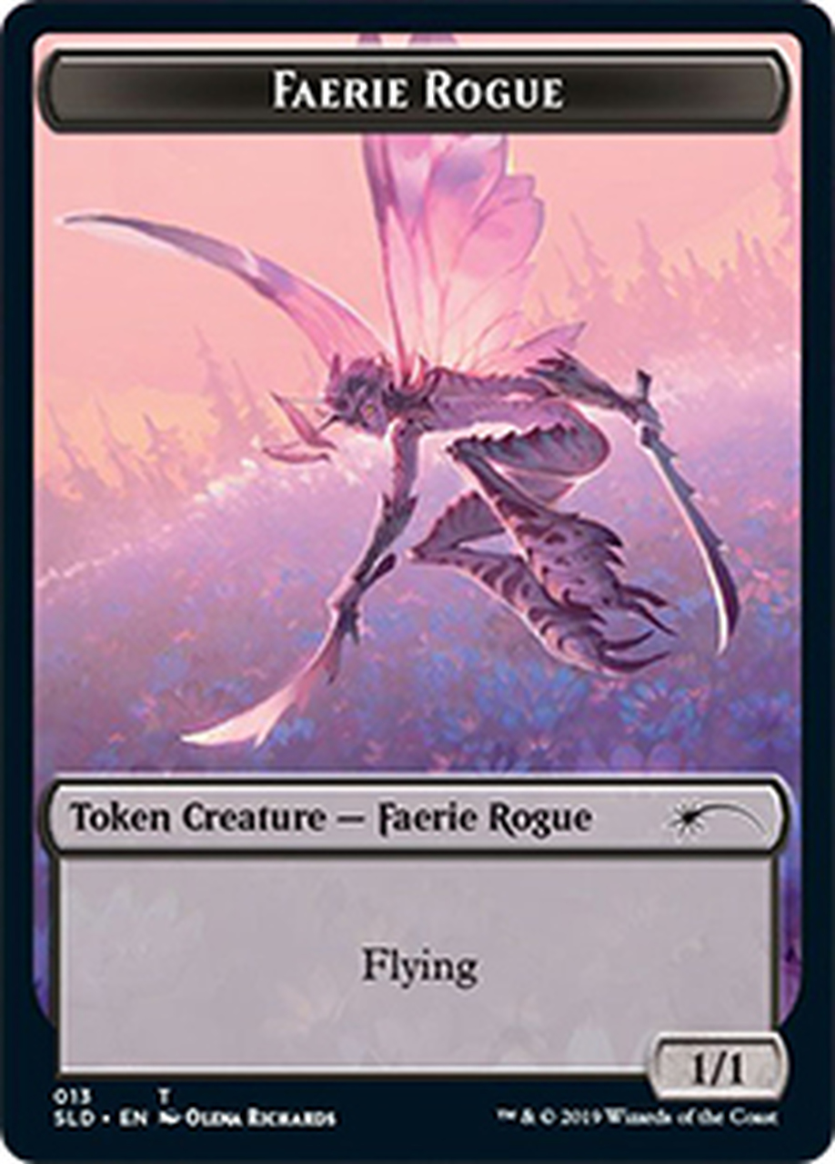 (SLD-Token)Faerie Rogue Token/フェアリー・ならず者トークン (No.013)