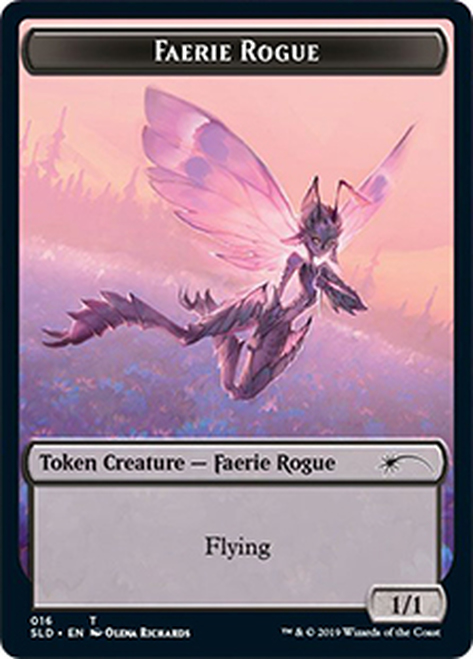 (SLD-Token)Faerie Rogue Token/フェアリー・ならず者トークン (No.016)