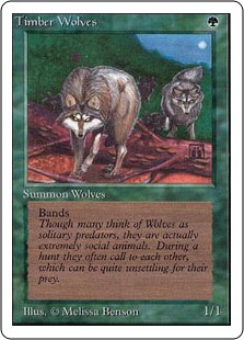 (2ED-RG)Timber Wolves/森林狼
