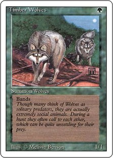 (3ED-RG)Timber Wolves/森林狼