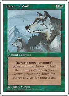 (4ED-RG)Aspect of Wolf/狼の血