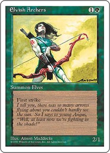 (4ED-RG)Elvish Archers/エルフの射手