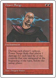(4ED-RR)Power Surge/魔力の奔流
