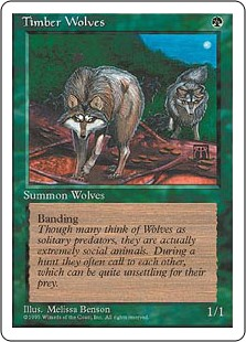 (4ED-RG)Timber Wolves/森林狼