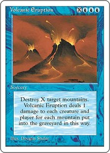 (4ED-RU)Volcanic Eruption/噴火