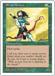 (5ED-RG)Elvish Archers/エルフの射手