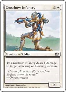 (8ED-CW)Crossbow Infantry/弩弓歩兵