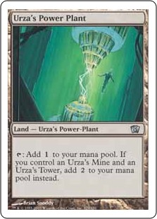(8ED-UL)Urza's Power Plant/ウルザの魔力炉
