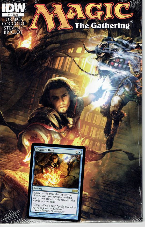 IDW Magic The Gathering Comic Book Issue #1 Regular Cover