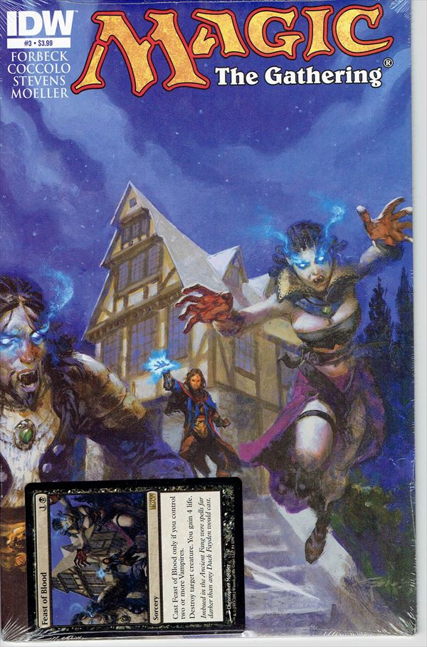 IDW Magic The Gathering Comic Book Issue #3 Regular Cover