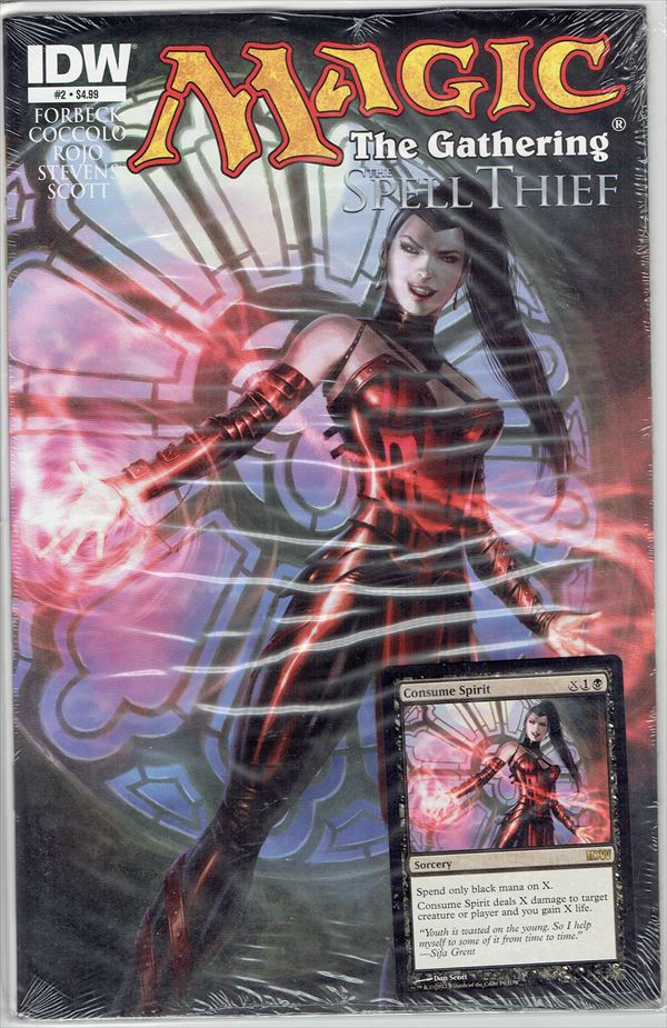 IDW Magic The Gathering Comic Book The Spell Thief Issue #2 Regular cover