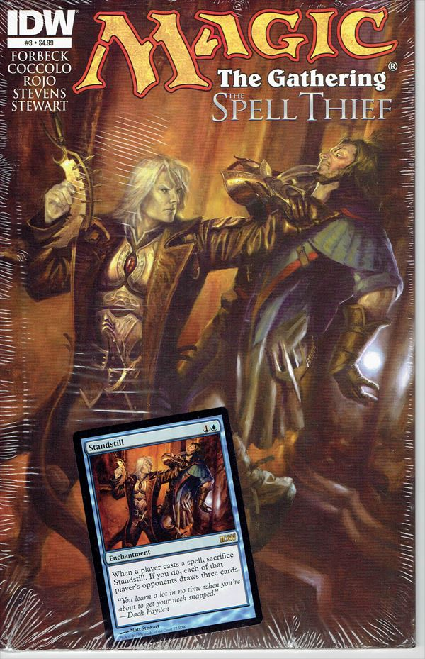 IDW Magic The Gathering Comic Book The Spell Thief Issue #3 Regular cover