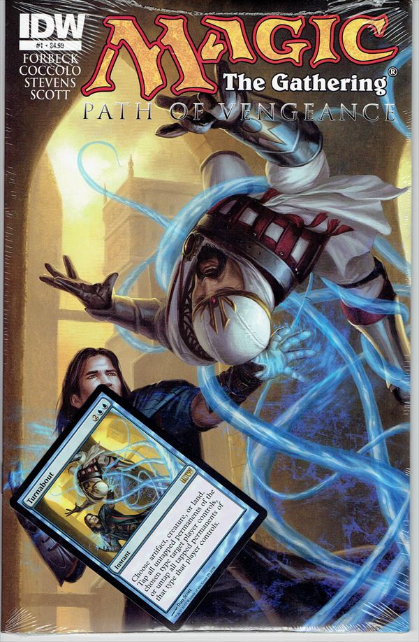 IDW Magic The Gathering Comic Book Path of Vengeance Issue #1 Regular cover
