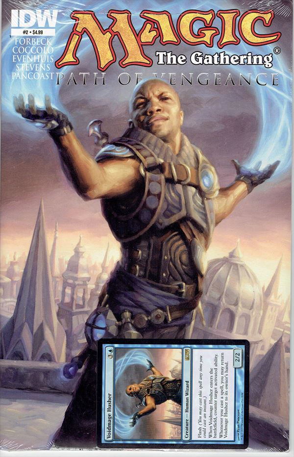 IDW Magic The Gathering Comic Book Path of Vengeance Issue #2 Regular cover