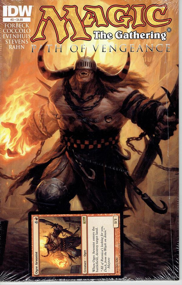 IDW Magic The Gathering Comic Book Path of Vengeance Issue #3 Regular cover
