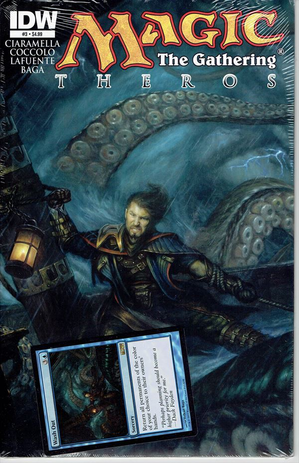 IDW Magic The Gathering Comic Book Theros Issue #3 Regular cover