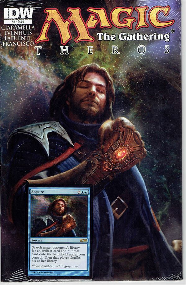 IDW Magic The Gathering Comic Book Theros Issue #4 Regular cover