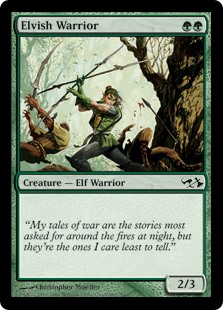 (EVG-CG)Elvish Warrior/エルフの戦士