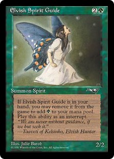 (ALL-UG)Elvish Spirit Guide
