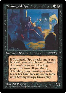 (ALL-UB)Stromgald Spy
