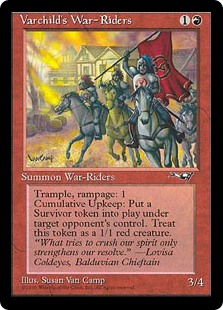(ALL-RR)Varchild's War-Riders