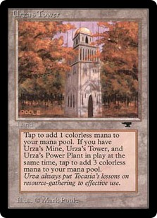 (ATQ-CL)Urza's Tower/ウルザの塔 (森)