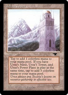 (ATQ-CL)Urza's Tower/ウルザの塔 (山)