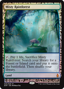 (BFZ-EX)Misty Rainforest/霧深い雨林