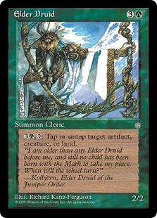 (ICE-RG)Elder Druid/上座ドルイド