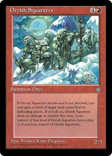 (ICE-RR)Orcish Squatters/居座りオーク