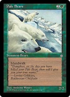 (ICE-RG)Pale Bears