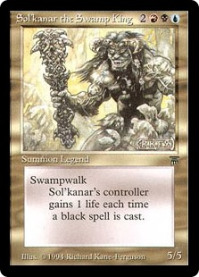 (LEG-RM)Sol'kanar the Swamp King/沼地の王ソルカナー