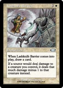 (PLS-UW)Lashknife Barrier/鎖ナイフの障壁