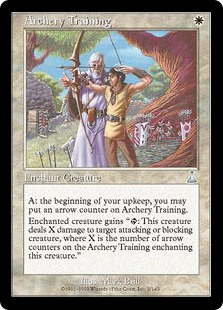 (UDS-UW)Archery Training/弓術の訓練