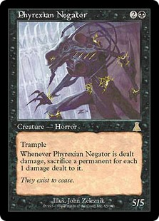 (UDS-RB)Phyrexian Negator/ファイレクシアの抹殺者