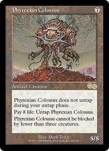 (USG-RA)Phyrexian Colossus/ファイレクシアの巨像