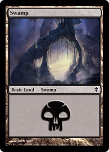 (ZEN-CL)Swamp/沼 (No.238, Regular Art)
