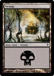 (ZEN-CL)Swamp/沼 (No.240, Regular Art)