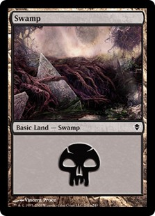 (ZEN-CL)Swamp/沼 (No.241, Regular Art)