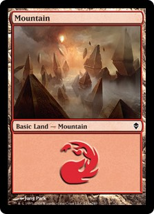 (ZEN-CL)Mountain/山 (No.243, Regular Art)