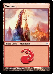 (ZEN-CL)Mountain/山 (No.244, Regular Art)