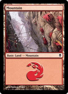 (ZEN-CL)Mountain/山 (No.245, Regular Art)