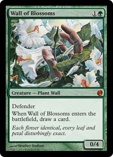 (V13-MG)Wall of Blossoms/花の壁