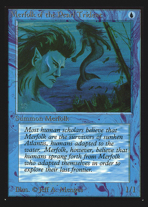 (CEI-CU)Merfolk of the Pearl Trident/真珠三叉矛の人魚