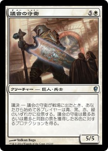 (CNS-UW)Council Guardian/議会の守衛