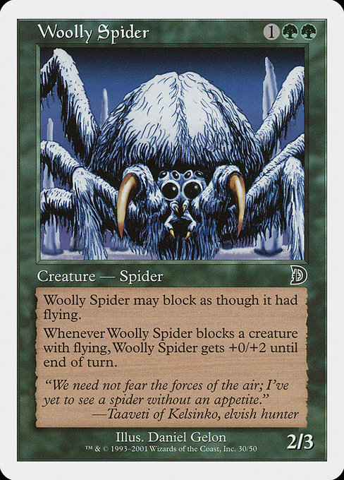 (DKM-CG)Woolly Spider