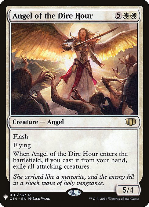(MB1-RW)Angel of the Dire Hour/凶時の天使