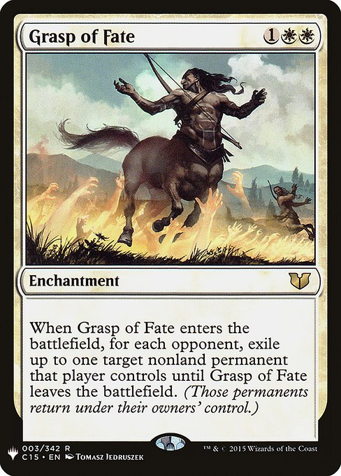 (MB1-RW)Grasp of Fate/命運の掌握