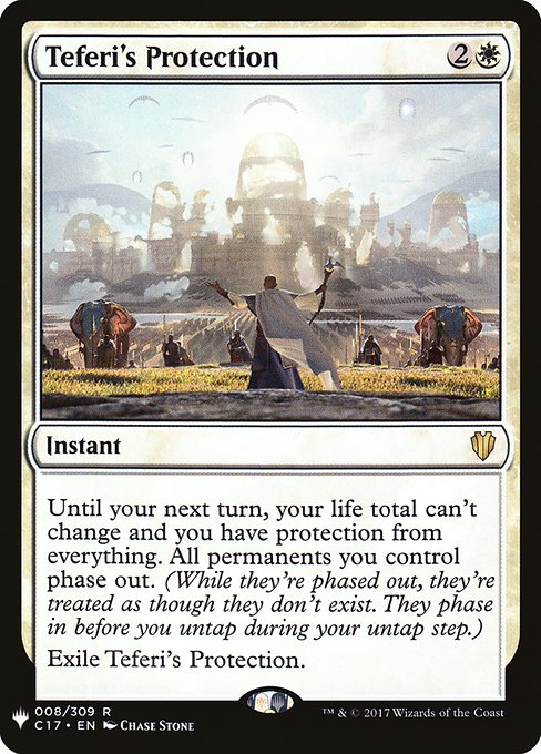(MB1-RW)Teferi's Protection/テフェリーの防御