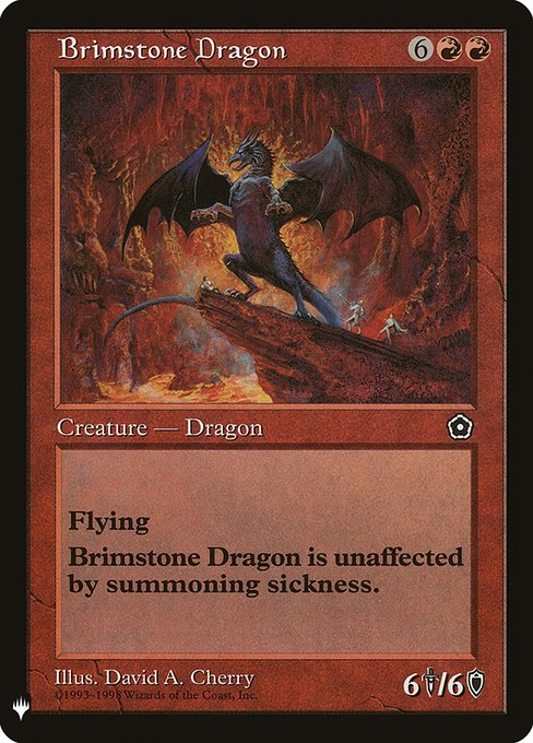 (MB1-RR)Brimstone Dragon/硫黄のドラゴン